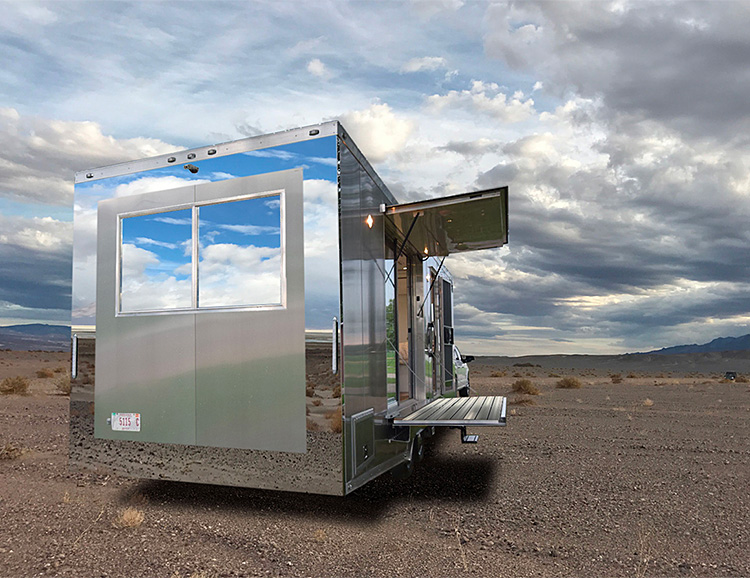 Living Vehicle is the Camper You've Been Waiting For at werd.com