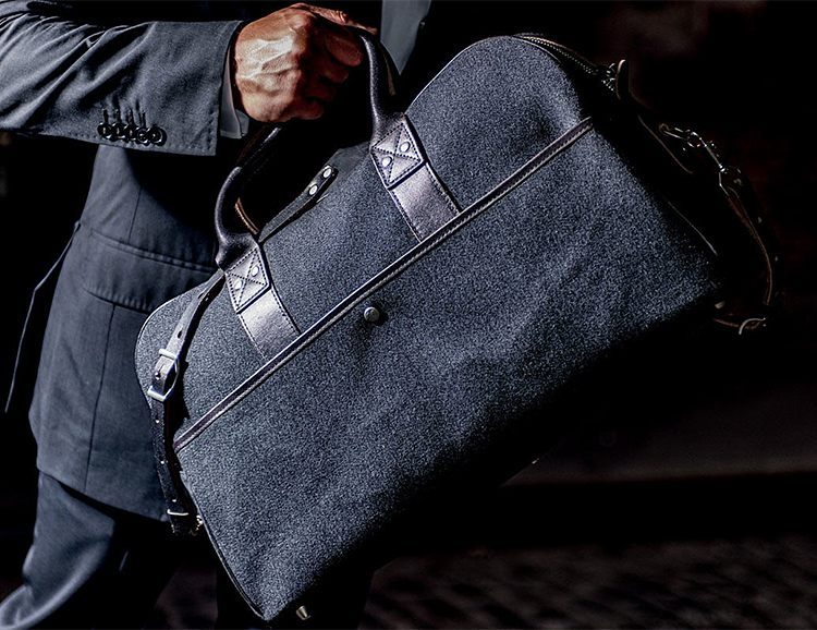 Wool & Horween Leather Highlight the Thornproof Collection from Billykirk at werd.com