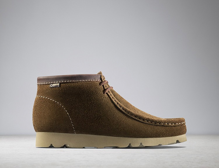 Clarks Introduces a Winterized Wallabee at werd.com