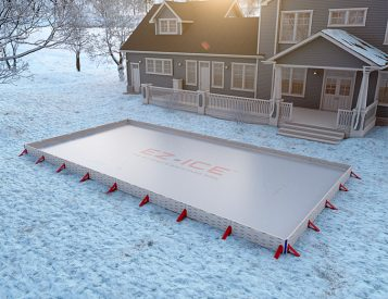 EZ-Ice Turns Your Yard Into a Skating Rink