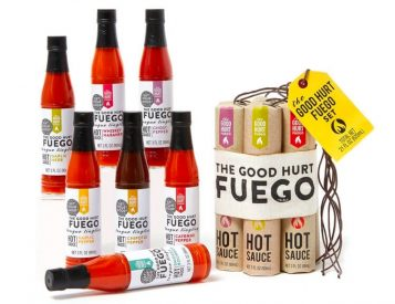 Get that Good Hurt with this Fuego Hot Sauce Sampler