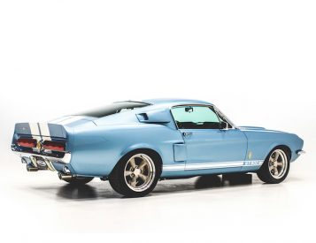 Classic Style Meets Modern Tech in this 1967 Shelby GT500 Reproduction
