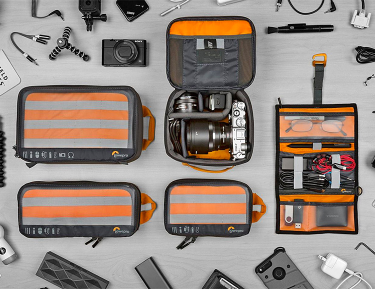 Lowepro's GearUp Pouches Keep Everything Organized at werd.com