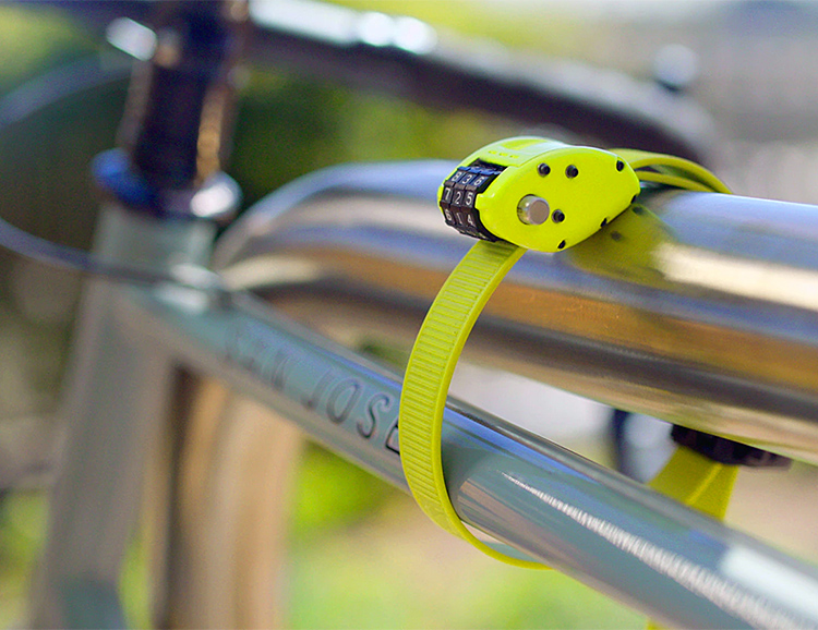 Ottolock is a Lightweight Security System for Your Bike at werd.com