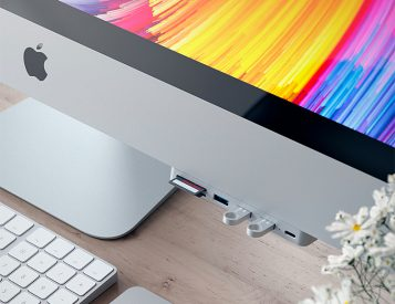 Satechi's New Type-C Clamp Hub Brings Your Favorite Ports Back to Your New iMac
