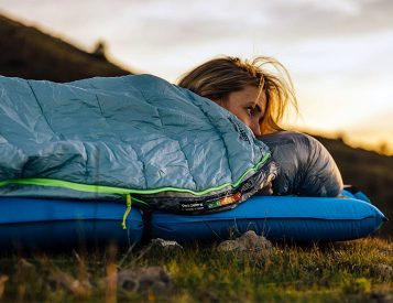 Therm-A-Rest Designed a Lightweight Bag for Sleeping Under The Stars