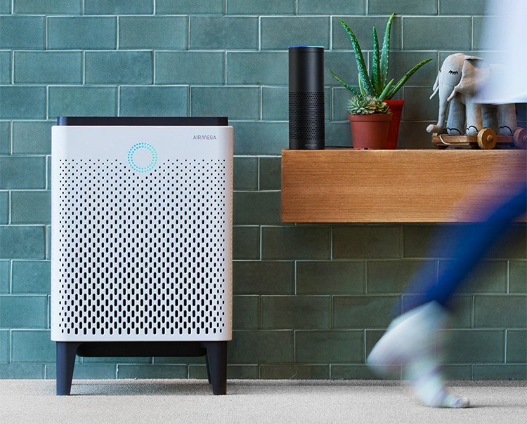 This Smart Home Air Purifier Works with Amazon Alexa at werd.com