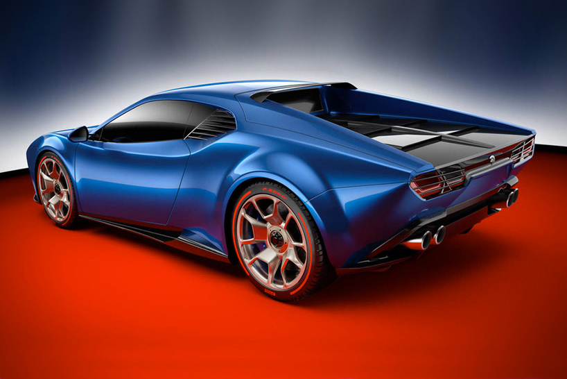 Project Panther is an Italian-Made, Retro-Inspired Supercar from ARES at werd.com