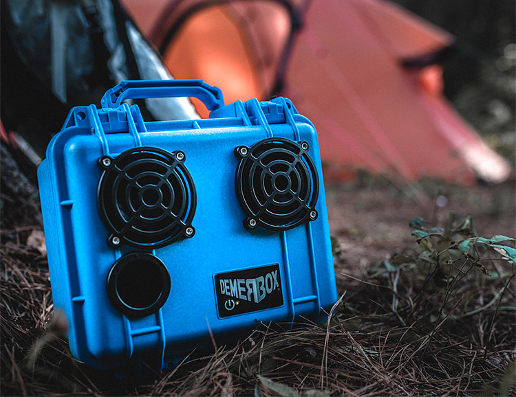 DemerBox Turned a Pelican Case Into a Portable Speaker at werd.com