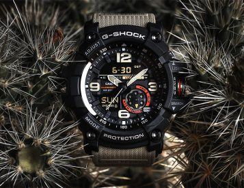Casio Introduces the G-Shock Mudmaster GG1000