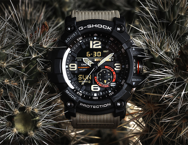 Casio Introduces the G-Shock Mudmaster GG1000 at werd.com