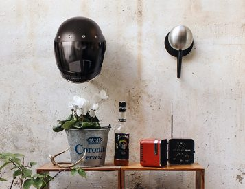 Nice Rack: The Halley Helmet Holder