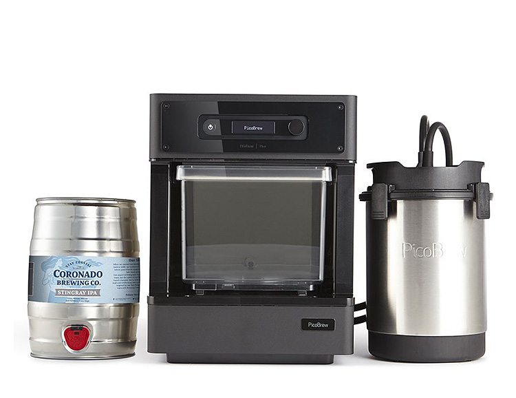 The Pico Model C Turns Your Kitchen Into a Craft Brewery at werd.com