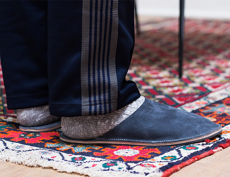 Viberg Slide House Slippers are Built To Chill at werd.com