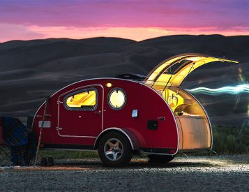 This Compact Camper Offers Incredible Views