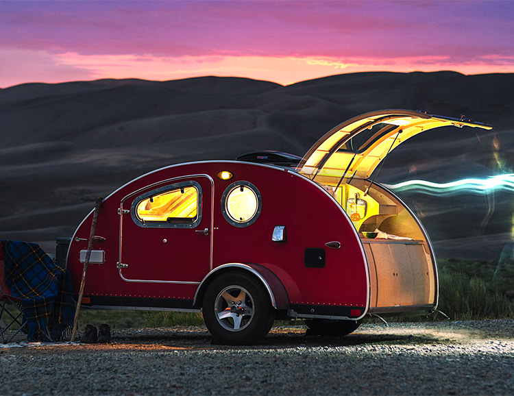 This Compact Camper Offers Incredible Views at werd.com