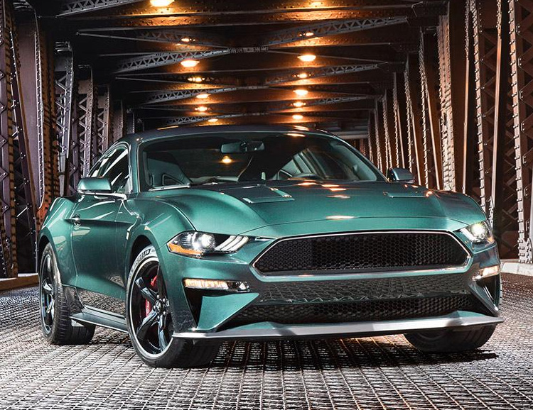 Ford Mustang Bullitt Edition Celebrates The 50-Year Car Chase Classic at werd.com
