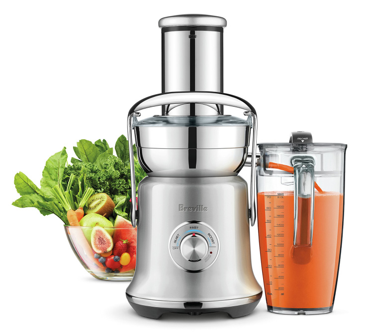 Breville's Juice Fountain XL Has Pro-Level Power at werd.com