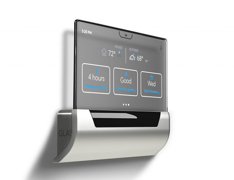 Microsoft Brings Cortana Voice-Control to the GLAS Smart Thermostat at werd.com