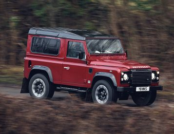 Land Rover Defender Celebrates its 70th with a Limited V-8