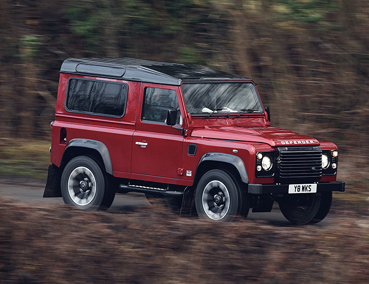 Land Rover Defender Celebrates its 70th with a Limited V-8 at werd.com