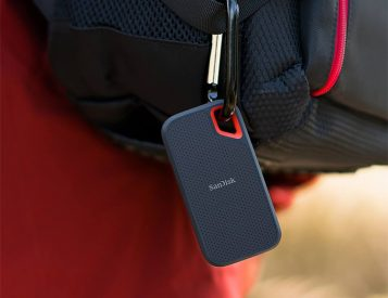 The SanDisk Extreme Portable SSD is Built Tough for Action On-The-Go