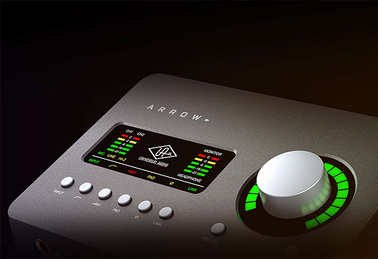 Universal Audio Introduces a Portable & Powerful Recording Interface at werd.com