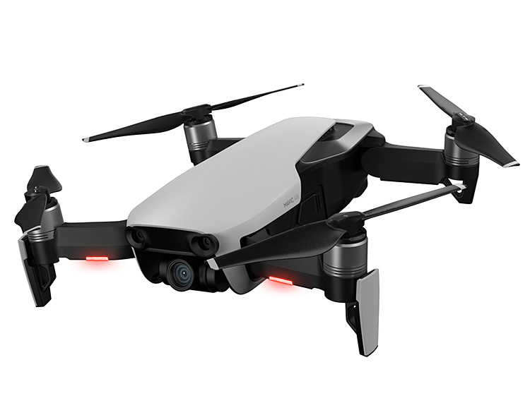 DJI Introduces Compact Mavic Air 4K Drone at werd.com