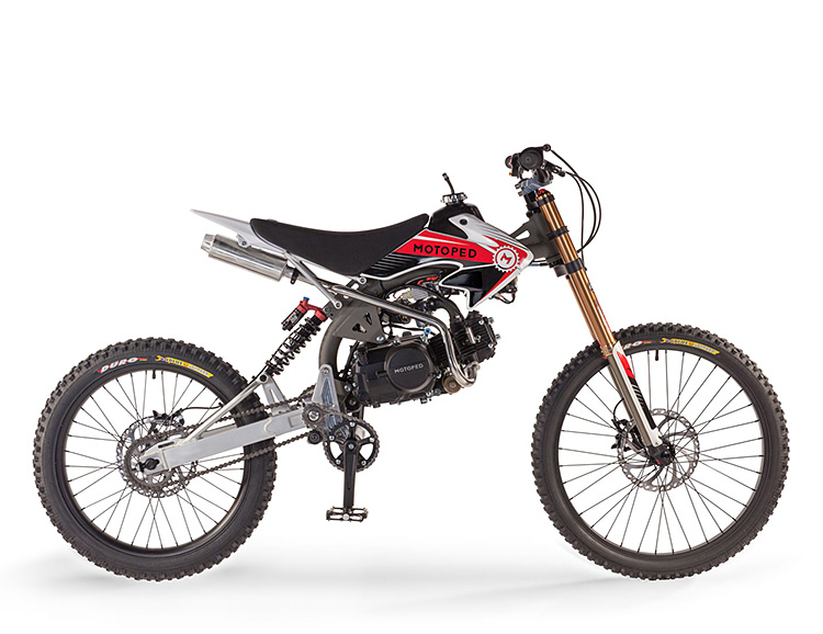 Make a Speedy Escape On the Motoped Pro at werd.com