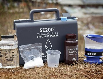 This Portable Chlorine Maker from MSR Produces Safe, Clean Drinking Water
