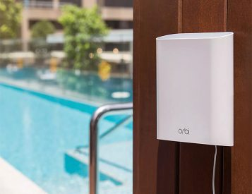 With Netgear's Orbi Outdoor Satellite, Get Better Backyard Streaming