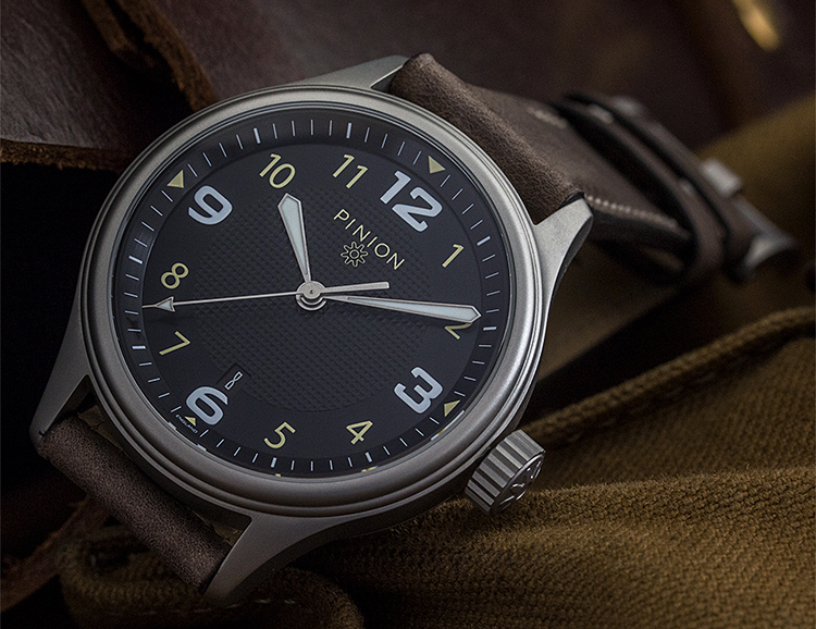 pinion by watches british company the atom watch product