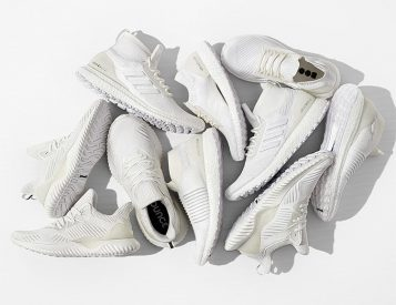Adidas' Undye Collection is Bright & All White