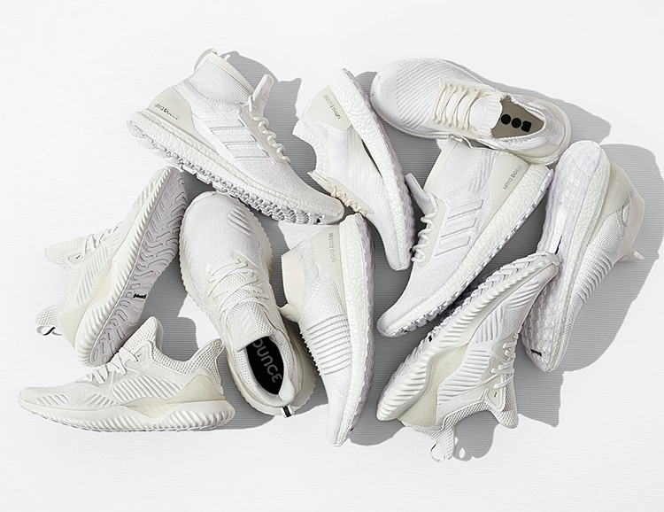 Adidas' Undye Collection is Bright & All White at werd.com