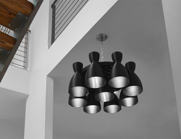 Light Up Your Space with a Rocket Inspired Chandelier