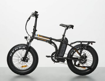 The RadMini Electric Folding Bike is a Cool Commuter
