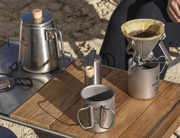 Snow Peak's Field Barista Set is Key for Killer Camp Coffee