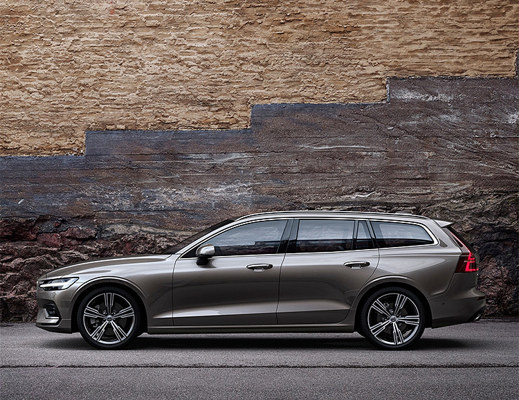 Volvo's 2019 V60 is a 390-Horse Hybrid at werd.com