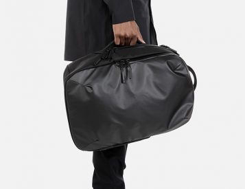 Aer's Work Collection Bags Are Built For Bad Weather