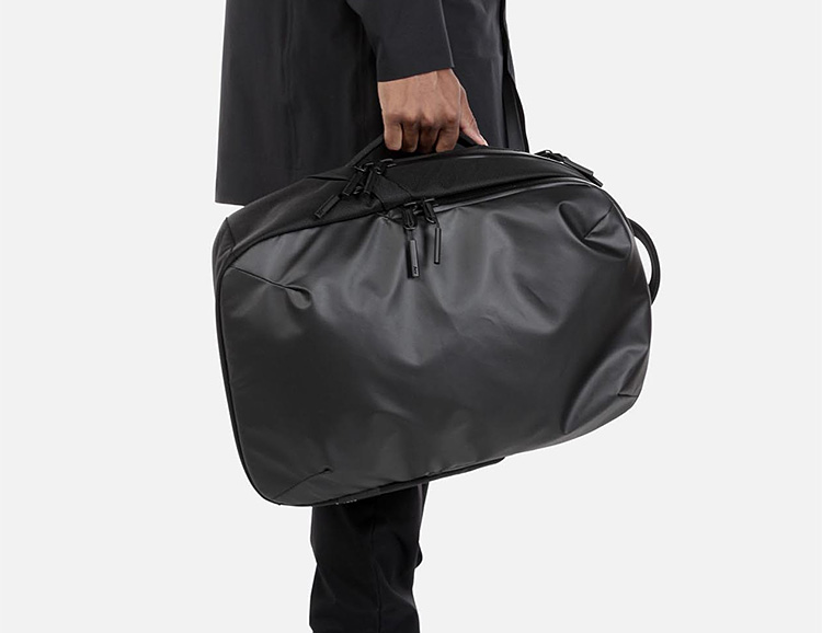 Aer's Work Collection Bags Are Built For Bad Weather at werd.com