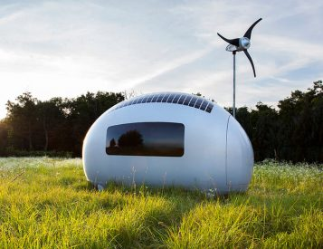 Ecocapsule is a High-Tech Tiny Home for Off-Grid Living