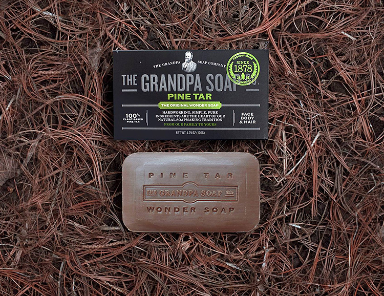 Grandpa Soap Co. Makes Naturally Simple Soaps at werd.com