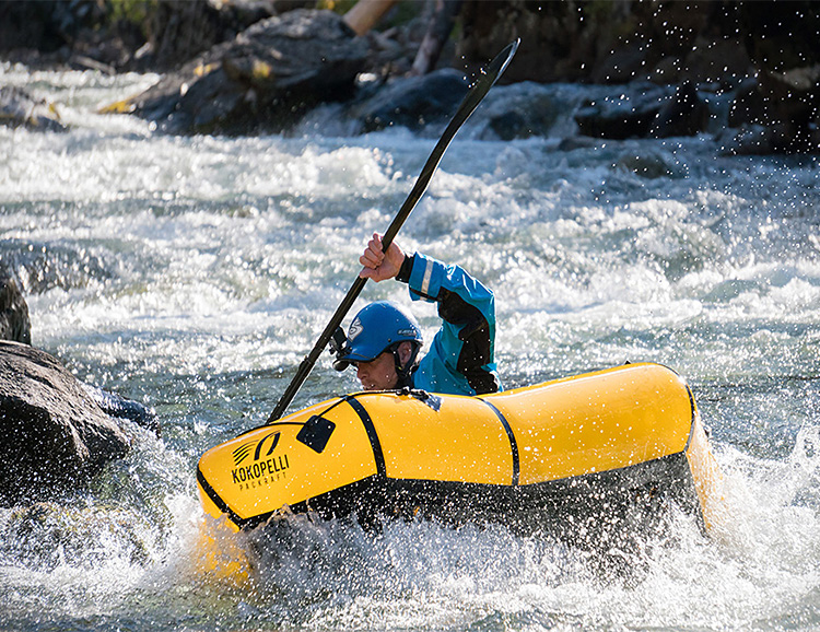 This Packable Raft Makes it Easy To Bring a Boat at werd.com