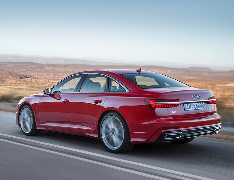 Audi's New A6 Gets a Tech Overhaul at werd.com