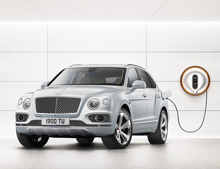 Bentley Introduces Its First Hybrid at werd.com
