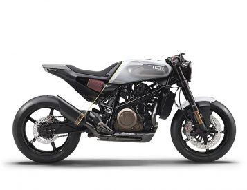 The Vitpilen 701 is a Husqvarna Built For The Streets