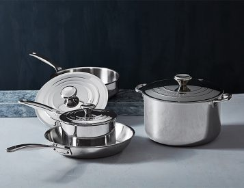 Le Creuset Introduces New 7-Piece Stainless Steel Collection