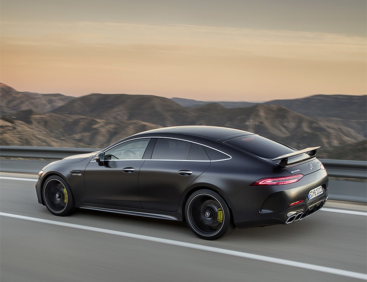 The New Mercedes-AMG GT Gets 2 More Doors at werd.com