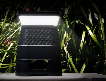 This Speaker & Light Combo is Powered By The Sun