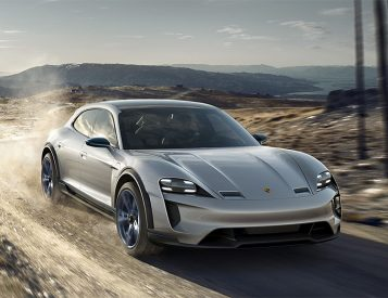 Porsche Rolls Out the Mission E Cross Turismo
